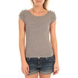 Vêtements Femme T-shirts manches courtes LuluCastagnette T-Shirt Jeny Rayé Bleu Bleu