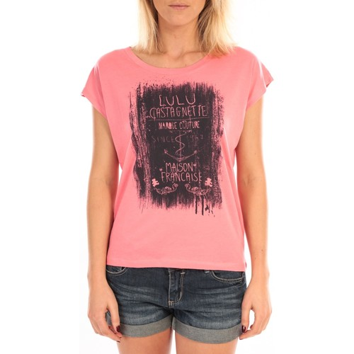 Vêtements Femme Tops / Blouses LuluCastagnette Top Luna Print Rose Rose