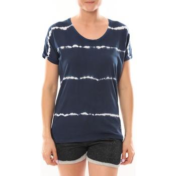 Vêtements Femme T-shirts manches courtes LuluCastagnette T-Shirt Bobo Marine Bleu