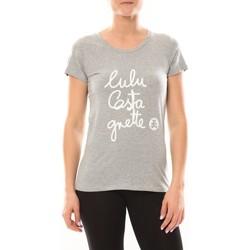 Vêtements Femme T-shirts manches courtes LuluCastagnette T-shirt Muse Gris Gris