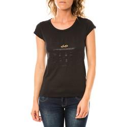 Vêtements Femme T-shirts manches courtes LuluCastagnette T-shirt Chicos Noir Noir