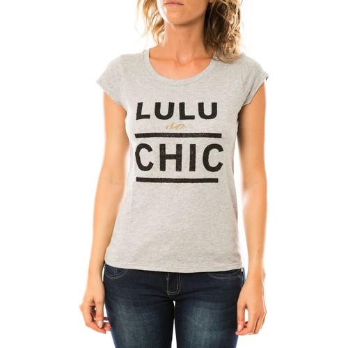 Vêtements Femme T-shirts manches courtes LuluCastagnette T-shirt Chicos Gris Gris