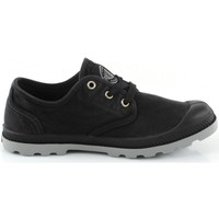 Chaussures Femme Baskets basses Palladium Pampa Oxford LP Noir