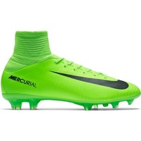 Chaussures Enfant Football Nike JR Mercurial Superfly V FG Firmground Vert