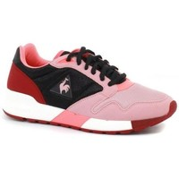 Chaussures Enfant Baskets basses Le Coq Sportif Chaussures  Omega X Tc Light Mesh Rose Rose Fuchsia