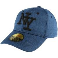 Accessoires textile Homme Casquettes Hip Hop Honour Casquette Baseball Bleu façon sweat Luis Bleu
