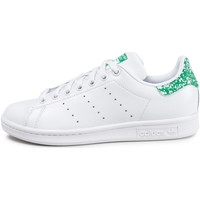Chaussures Femme Baskets basses adidas Originals Stan Smith W heVerte Blanc/Vert