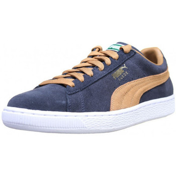 Chaussures Homme Baskets basses Puma Suede Classic - Ref. 350734-12 Bleu