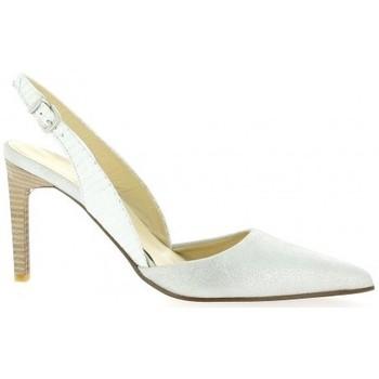 Chaussures Femme Escarpins Elizabeth Stuart Escarpins cuir laminé Blanc