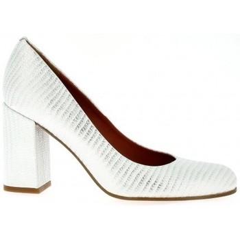 Chaussures Femme Escarpins Elizabeth Stuart Escarpins cuir serpent Blanc