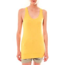 Vêtements Femme Débardeurs / T-shirts sans manche Sweet Company Debardeur 107672  Jaune Jaune