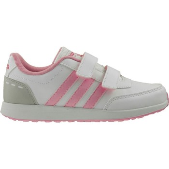 Chaussures Enfant Baskets basses adidas Originals VS Switch 2 Cmf C Rose-Gris-Blanc