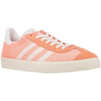 Chaussures Femme Baskets basses adidas Originals Gazelle PK W Blanc-Orange