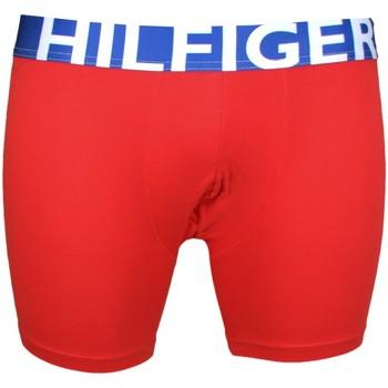 Vêtements Homme Boxers / Caleçons Tommy Hilfiger Boxer long  rouge pour homme Rouge