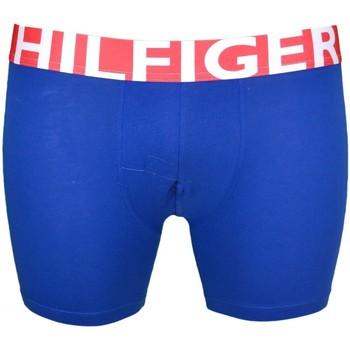 Boxers / caleçons tommy hilfiger boxer long bleu pour homme