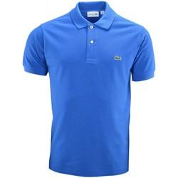 Vêtements Homme Polos manches courtes Lacoste Polo basique  bleu pour homme Bleu