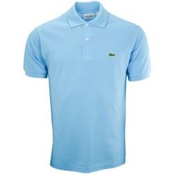 Vêtements Homme Polos manches courtes Lacoste Polo basique L1212  bleu turquoise pour homme Bleu