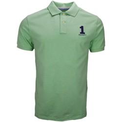 Vêtements Homme Polos manches courtes Hackett Polo  basic one vert pastel pour homme Vert