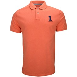 Vêtements Homme Polos manches courtes Hackett Polo  basic one orange pastel pour homme Orange