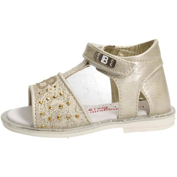 Chaussures Fille Sandales et Nu-pieds Laura Biagiotti 2501 Sandale Fille Or Or
