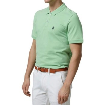 Vêtements Homme Polos manches courtes Selected Polo  Aro vert