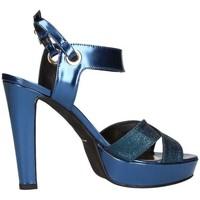 Chaussures Femme Sandales et Nu-pieds Emporio Di Parma 628 Sandale Femme bleu bleu