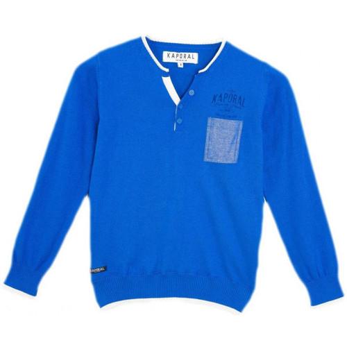 Vêtements Garçon Pulls Kaporal Pull Garçon Madon Cobalt Bleu