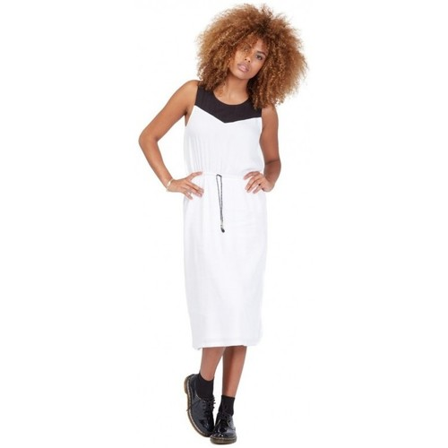 Vêtements Femme Robes longues Volcom Robe  Get In Line - White blanc