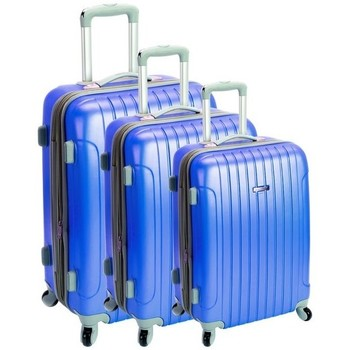 Sacs Valises Rigides Madisson Lot de 3 valises  33403 Bucarest Bleu Bleu