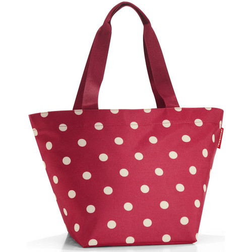 Sacs Femme Cabas / Sacs shopping Reisenthel Cabas  Shopper M Ruby Dots Bordeaux