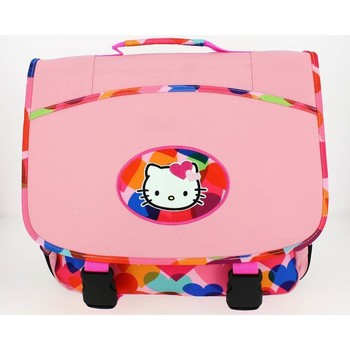 Sacs Enfant Cartables Hello Kitty Cartable  38 cm Rose Rose