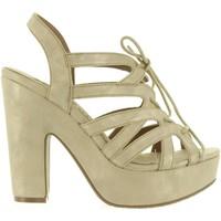 Chaussures Femme Sandales et Nu-pieds Xti 46612 Gold