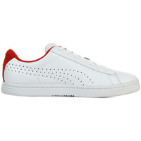Chaussures Homme Baskets basses Puma Court Star Crafted blanc