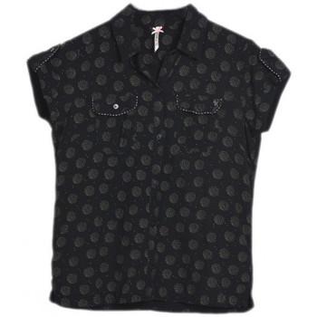Vêtements Fille Chemises manches courtes Kaporal Chemise Fille Bilou Noir Noir
