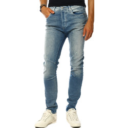 Vêtements Femme Jeans droit Jack & Jones Jeans HOMME - LUKE ECHO JOS 248 NOOS_BLUE DENIM Bleu