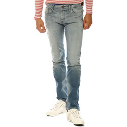 Vêtements Femme Jeans droit Jack & Jones Jeans HOMME - CLARK ORIGINAL JOS 806_BLUE DENIM Bleu