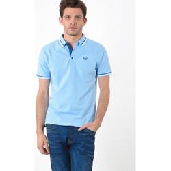 Vêtements Homme Polos manches courtes Kaporal Polo  Basoc Mineral Bleu