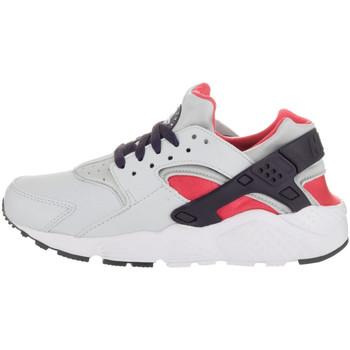 Chaussures Fille Baskets basses Nike Basket  Air Huarache Run Junior - Ref. 654280-009 Blanc