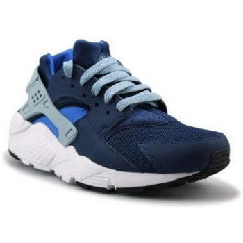 Chaussures Enfant Baskets basses Nike Air Huarache Run Junior - Ref. 654275-406 Bleu