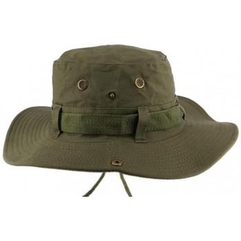 Accessoires textile Homme Chapeaux Nyls Création Chapeau Bob safari Vert Azzy Vert