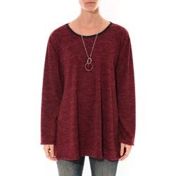 f75966f8e4e Vêtements Femme Tuniques Barcelona Moda Tunique Fashion Moda Bordeaux Rouge