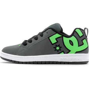 Chaussures Garçon Baskets basses DC Shoes Court Graffik Se Green/Grey/White