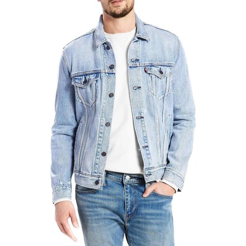 Vêtements Homme Vestes en jean Levi's TH TRUCKER JACKET STONEBRIDGE Bleu