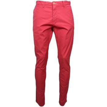 Vêtements Homme Chinos / Carrots Gant Chino  rouge pour homme longueur 34 Rouge