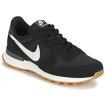 on sale 01831 b90c8 Chaussures Femme Baskets basses Nike INTERNATIONALIST W Noir   Blanc