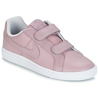Chaussures Fille Baskets basses Nike COURT ROYALE CADET Rose