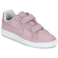 Chaussures Fille Baskets basses Nike COURT ROYALE CADET Rose