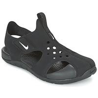 Chaussures Garçon Sandales et Nu-pieds Nike SUNRAY PROTECT 2 CADET Noir / Blanc