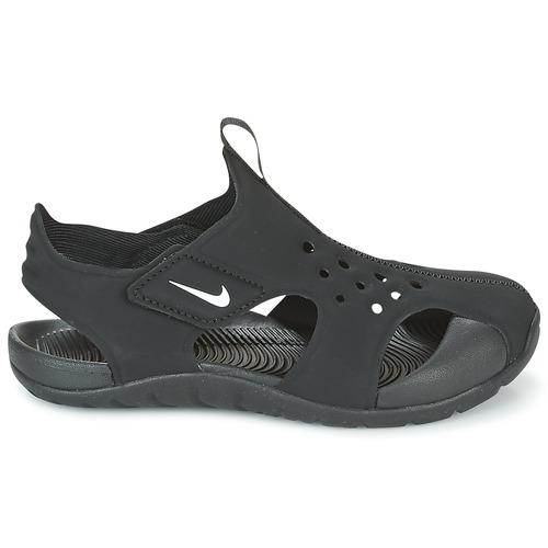 pieds Et Garçon 2 NoirBlanc Chaussures Cadet Sandales Nu Nike Sunray Protect dWCxBoer