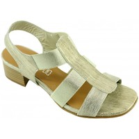 Chaussures Femme Sandales et Nu-pieds Angelina Janitazi Or